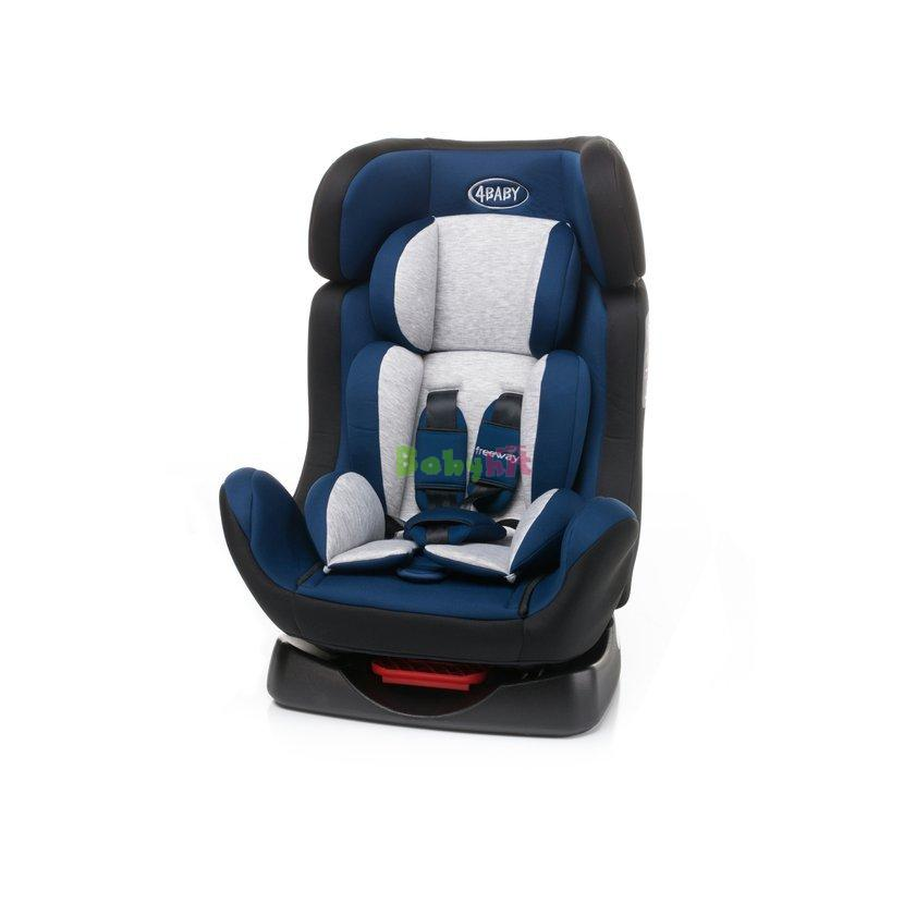 Autosedačka 4BABY Freeway - Navy Blue